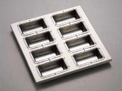 シリコン加工 フィナンシェ型天板 8ヶ付