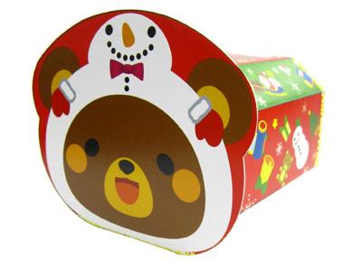 クリスマスギフト箱 ノリノリBOX くま