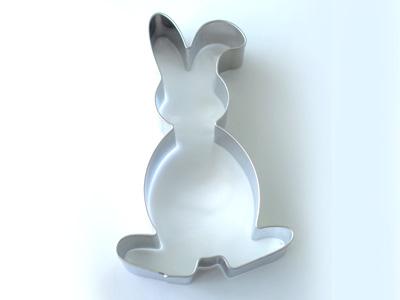 BIRKMANNクッキー型 ウサギ2