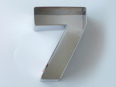 BIRKMANNクッキー型 数字7