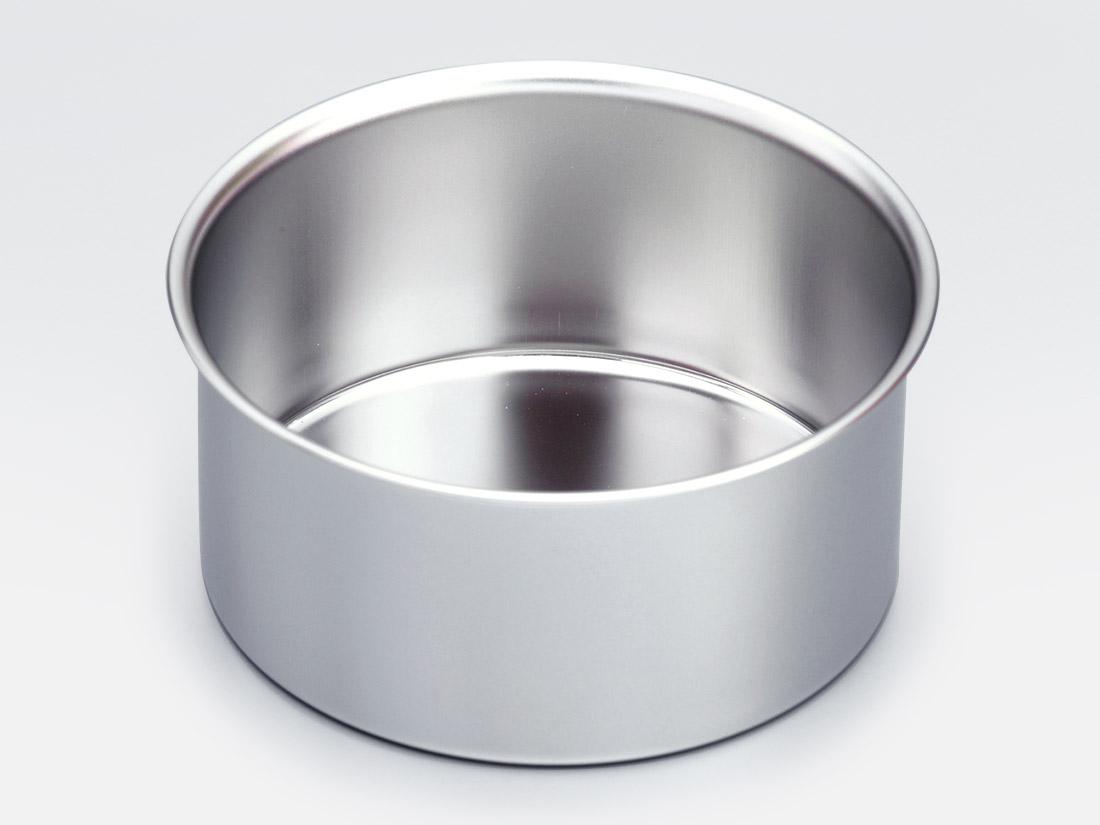18-8 デコ缶 共底 深型 4寸