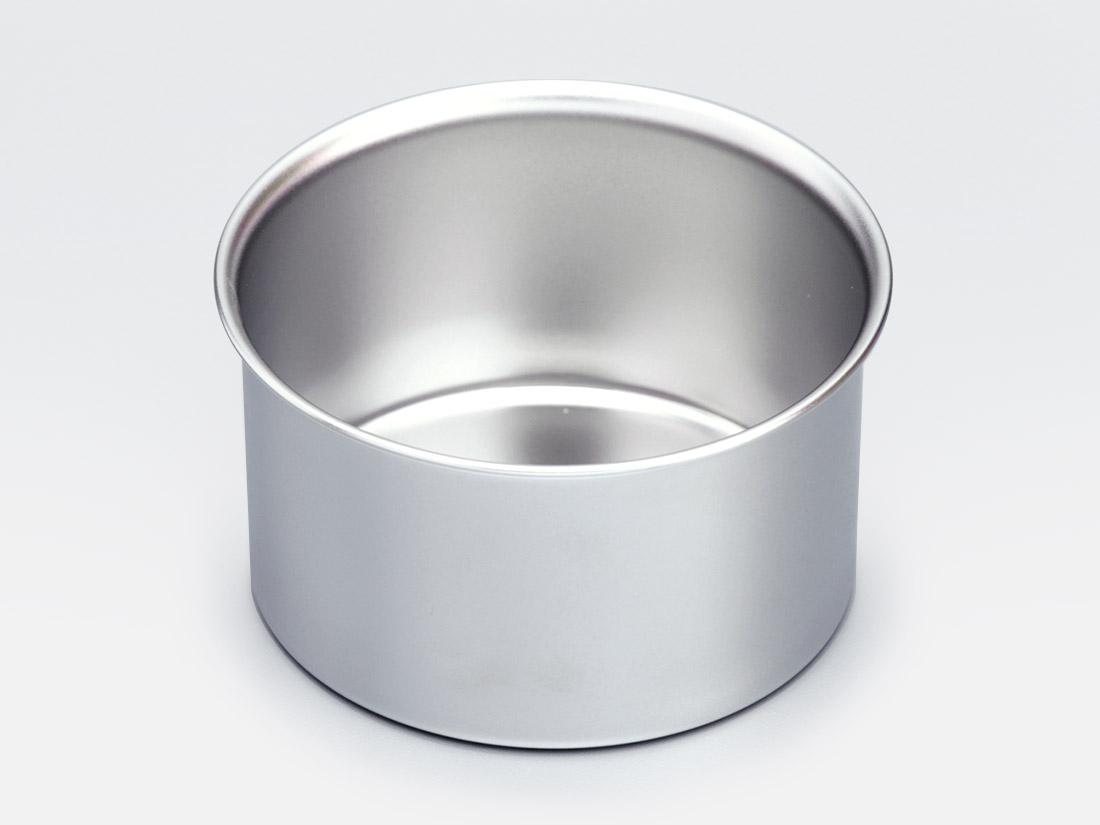 18-8 デコ缶 共底 浅型 3寸