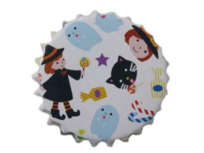 HW マドレーヌ 魔女とネコ ホワイト(15枚入り)