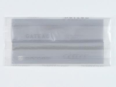 焼き菓子ガゼット袋 ガトーシルバー