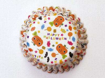 ハロウィン ペットケーキカップ ロゴキャラ