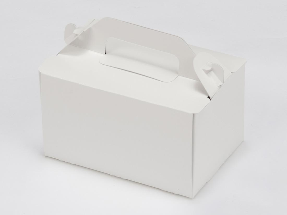 ケーキ箱 手提サイドオープンNC 3.5×5