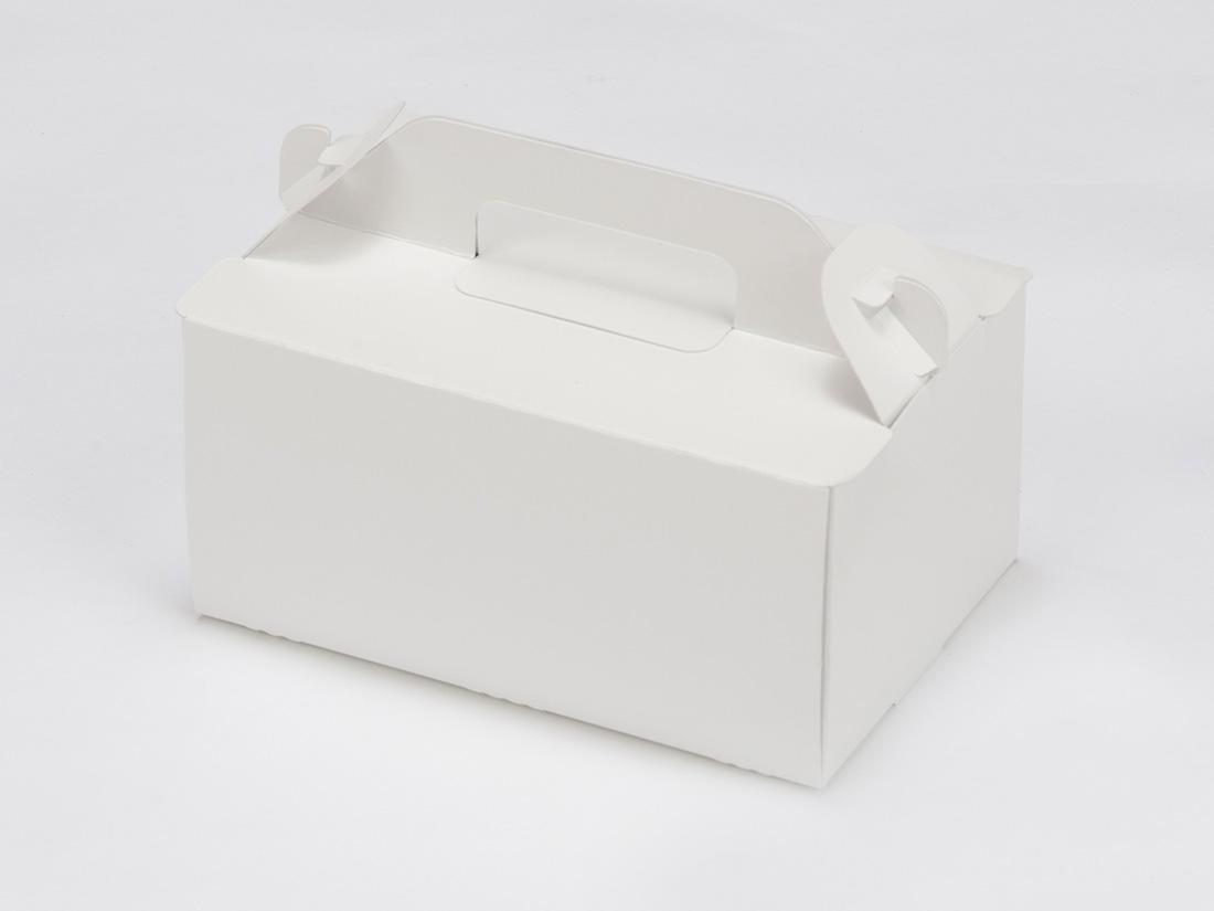 ケーキ箱 手提サイドオープンNC 4×6