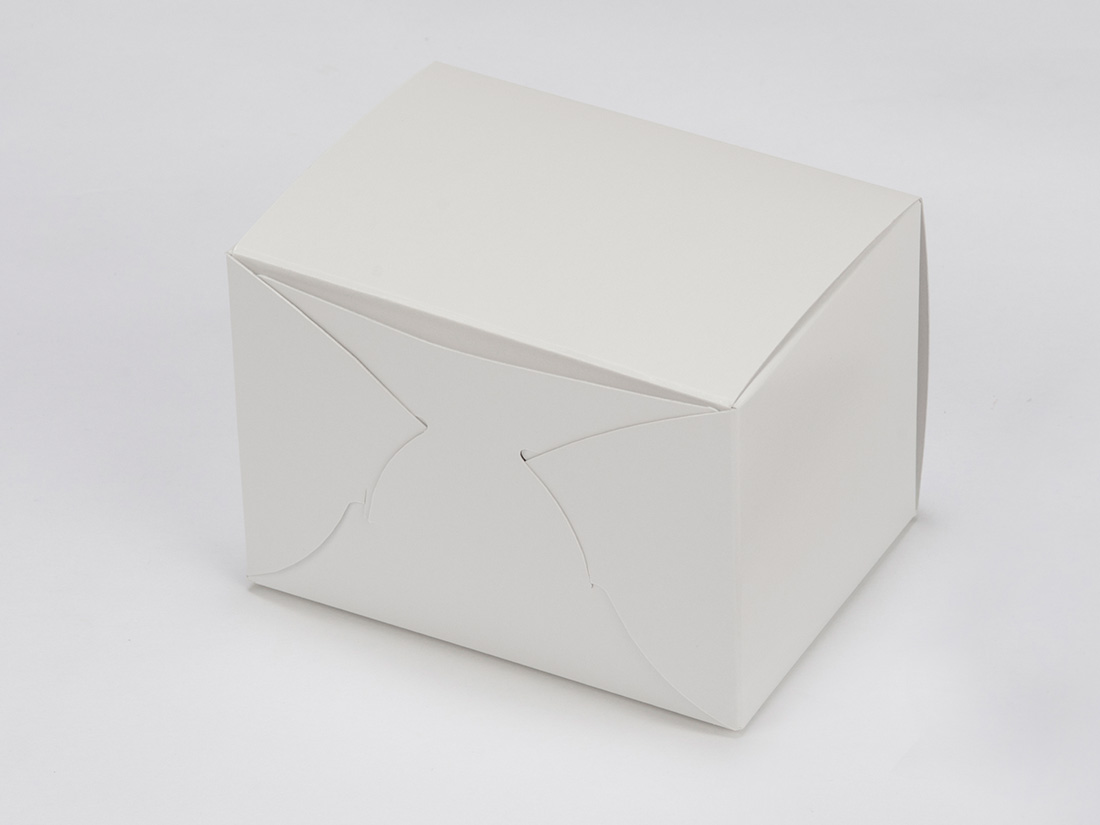 ケーキ箱 ホワイトショートNC No.4