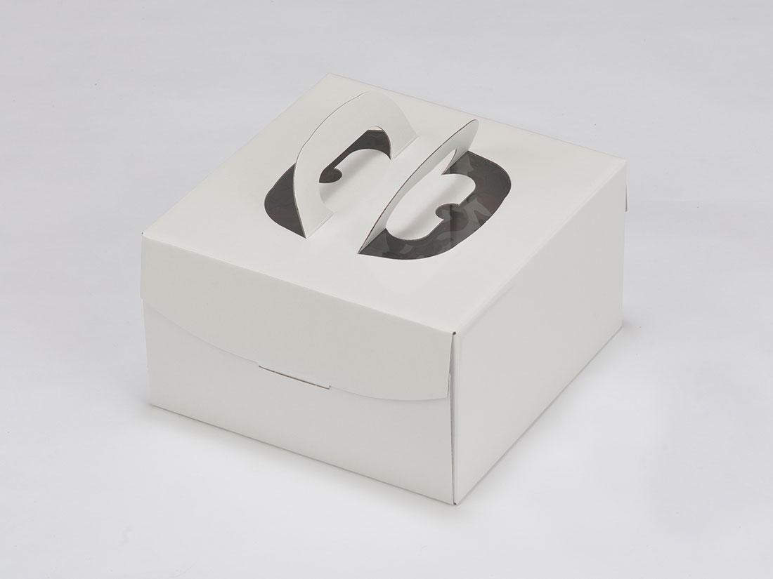 ホワイトデコNC L4寸H130(トレーなし)