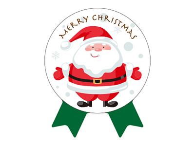 クリスマスシール リボン