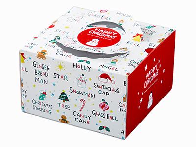 クリスマスデコ箱 TD チャーム 6寸用(トレーなし)