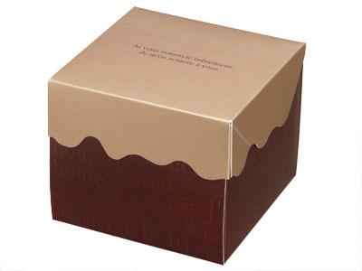 ガトーショコラBOX4 ハイタイプ ゴールド/ブラウン