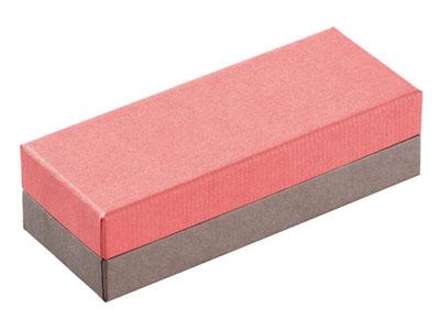 コンビBケース ピンク/グレー 1173 3仕切