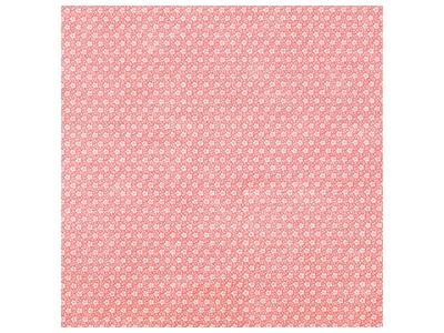 アラカルト 梅小紋赤 75×75cm