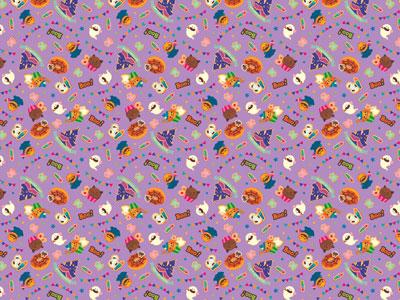 ハロウィン包装紙 クッキーパーティ