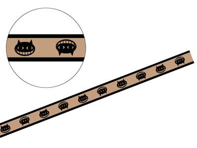 ハロウィンクラフトタイ ブラックキャット(15本入)
