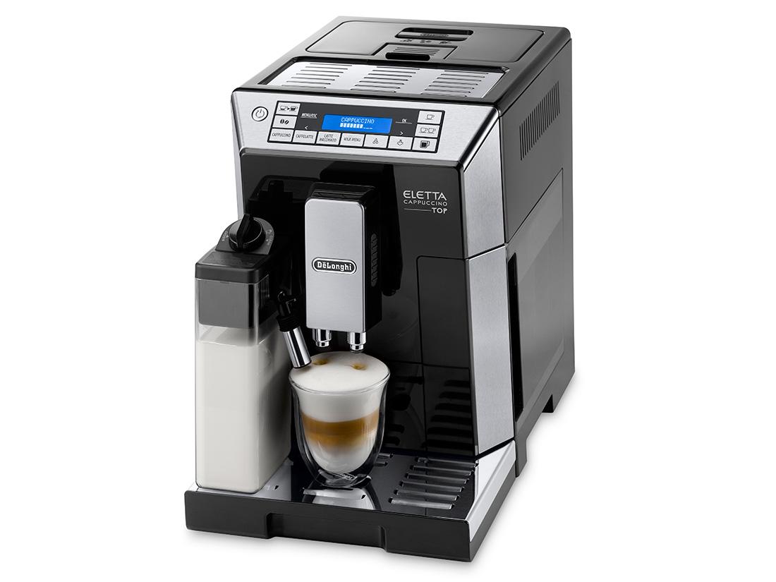 デロンギ エレッタ カプチーノ トップ コンパクトコーヒーマシン