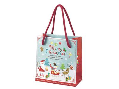 クリスマススノーパーティーペーパーバッグ