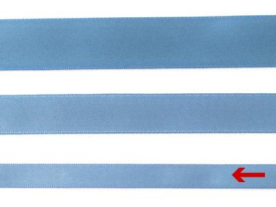 cotta 両面サテンリボン アンティークブルー 9mm×5m
