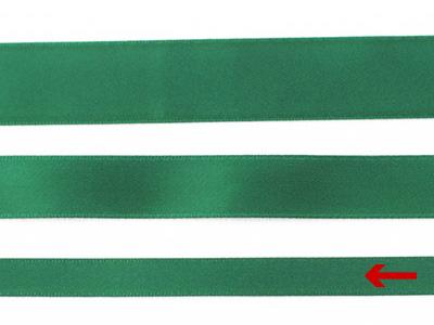 cotta 両面サテンリボン フォレストグリーン 9mm×5m