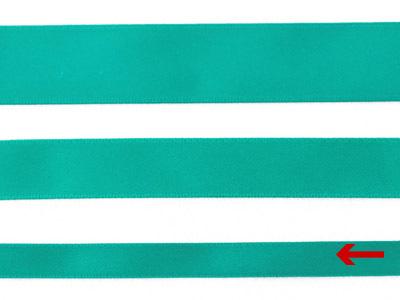 cotta 両面サテンリボン パロットグリーン 9mm×20m