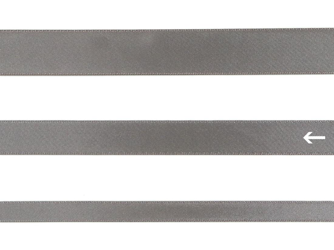 cotta 両面サテンリボン メタルグレイ 16mm×5m