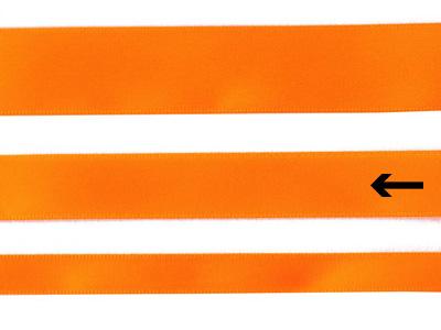 cotta 両面サテンリボン タンジェリンオレンジ 16mm×5m