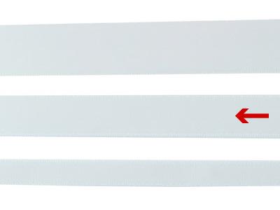 cotta 両面サテンリボン オフホワイト 16mm×20m