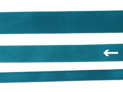 cotta 両面サテンリボン ティールグリーン 16mm×20m