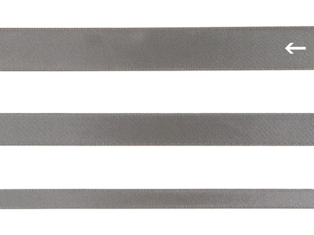 cotta 両面サテンリボン メタルグレイ 22mm×5m
