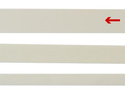 cotta 両面サテンリボン アンティークホワイト 22mm×20m