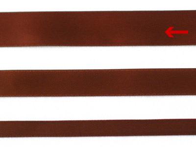cotta 両面サテンリボン ブラウン 22mm×20m
