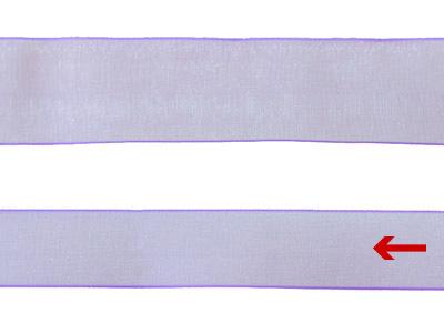cotta シェアサテンリボン ペールアイリス 16mm×5m