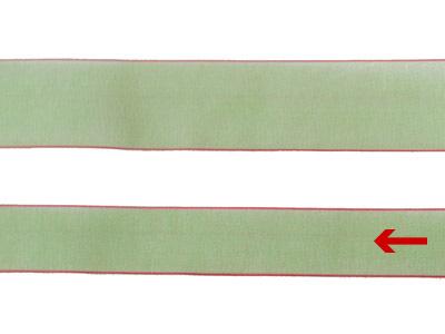 cotta シェアサテンリボン ホリーグリーン 16mm×5m