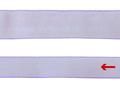 cotta シェアサテンリボン ペールアイリス 16mm×20m