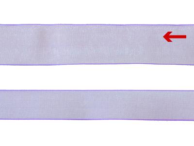 cotta シェアサテンリボン ペールアイリス 22mm×5m