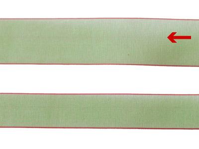 cotta シェアサテンリボン ホリーグリーン 22mm×5m
