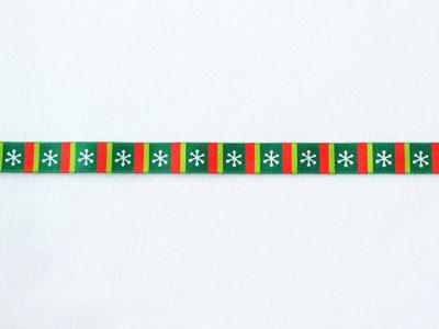 cotta リボン クリスマス 六花 9mm×5m