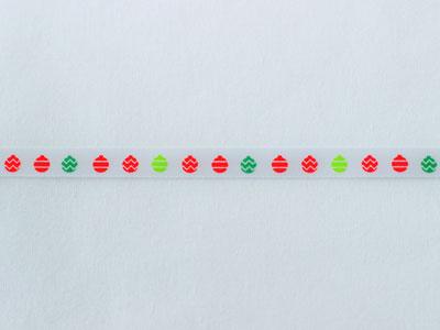 cotta リボン クリスマス クーゲル 9mm×5m