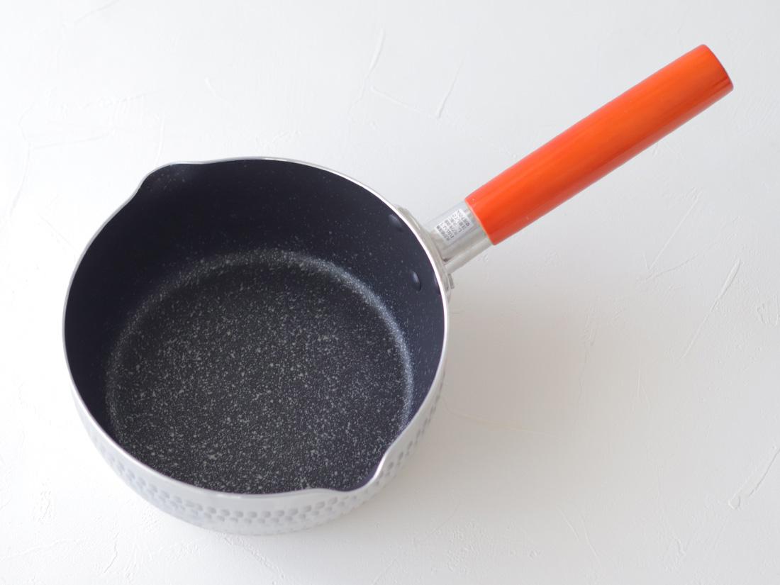 マーブルミラー雪平鍋 18cm(IH対応)
