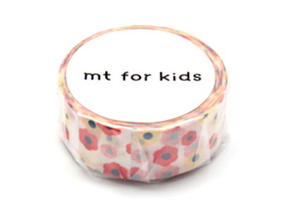 mt for kids モチーフ・花