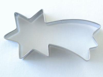 BIRKMANNクッキー型 流れ星 8cm