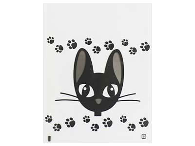 デザインポリバッグ 黒猫パーティ(25枚入)