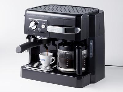 デロンギ コンビコーヒーメーカー BCO410J-B