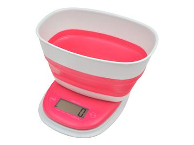 デジタルスケール「メルバ」3kg ピンク