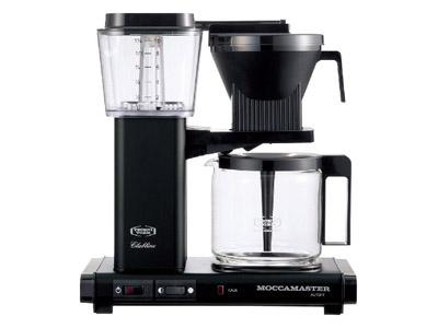 モカマスター コーヒーメーカー(マットブラック) MM741AO-MB