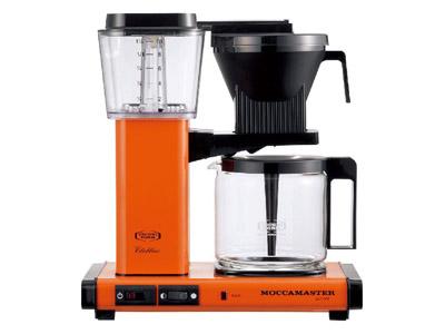 モカマスター コーヒーメーカー(オレンジ) MM741AO-OR