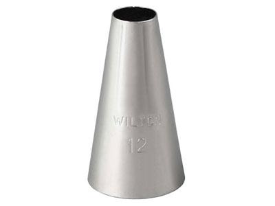 Wilton ラウンドチップ #12
