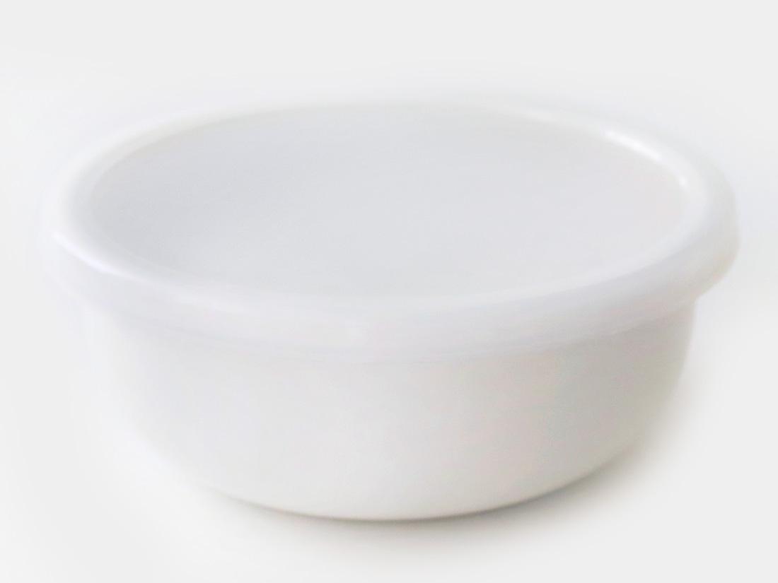 cotta 琺瑯 丸型14cm ホワイト