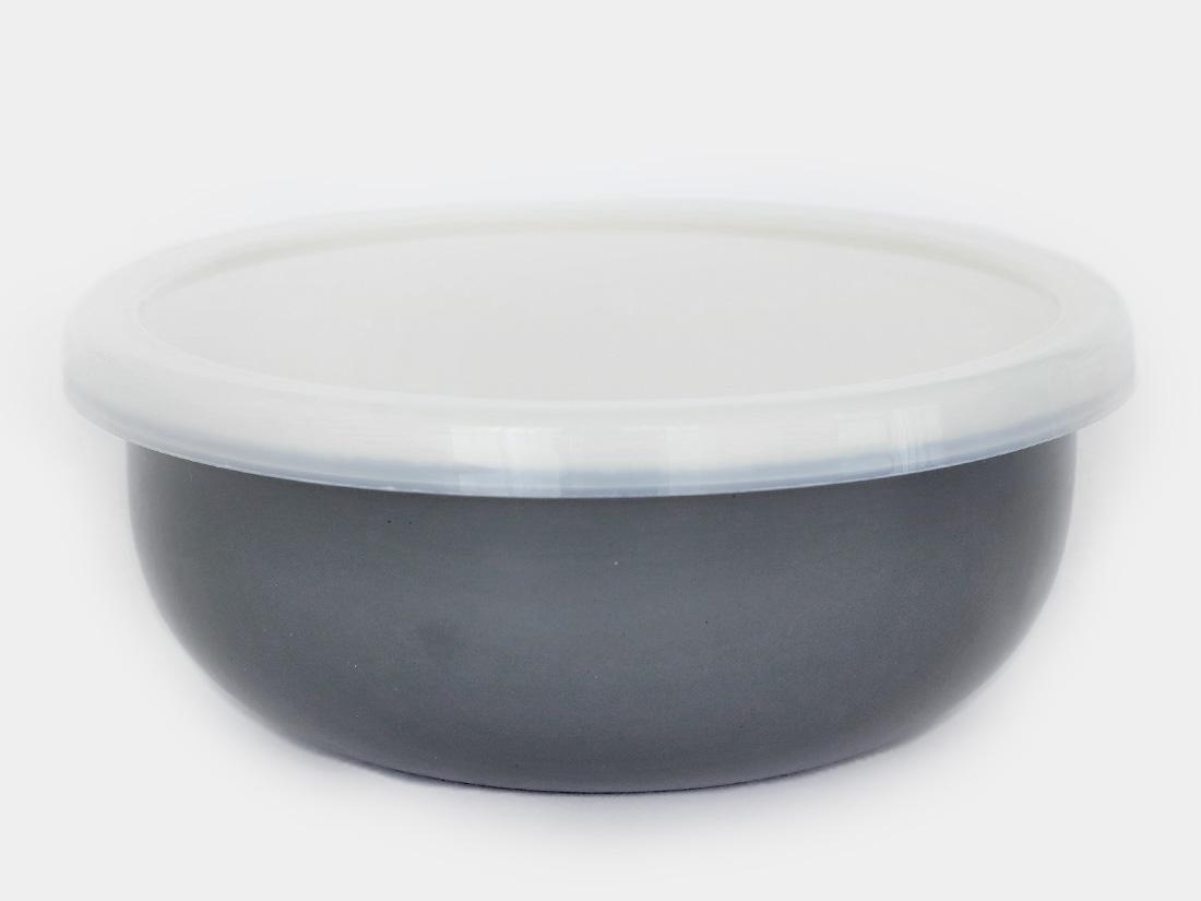 cotta 琺瑯 丸型14cm グレー